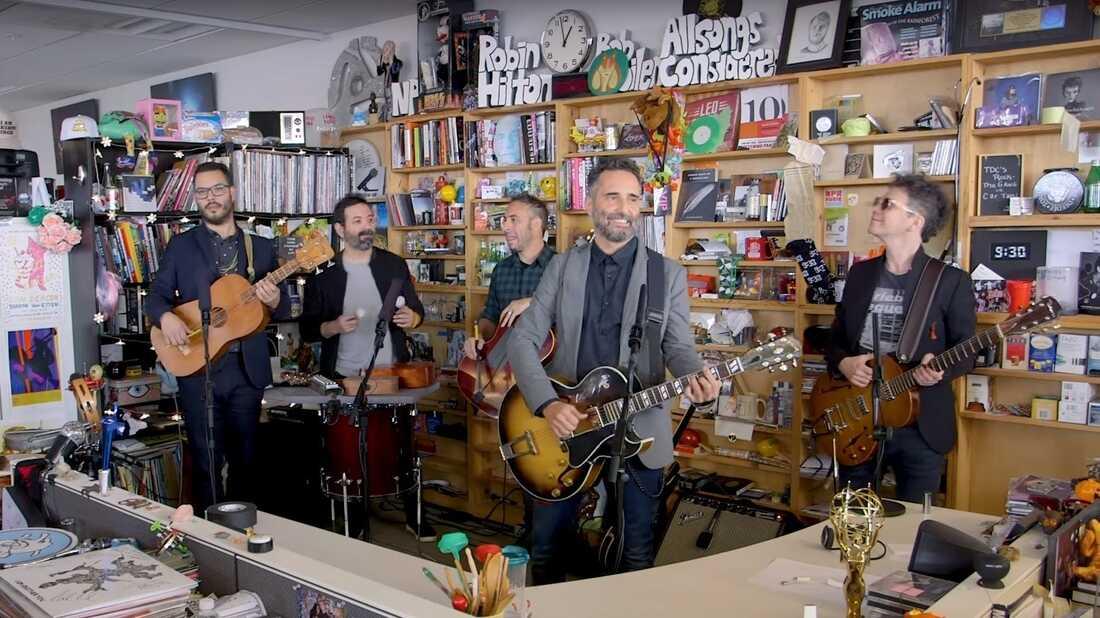 'El Tiny': A Sampler Of Latin Bands At NPR's Tiny Desk