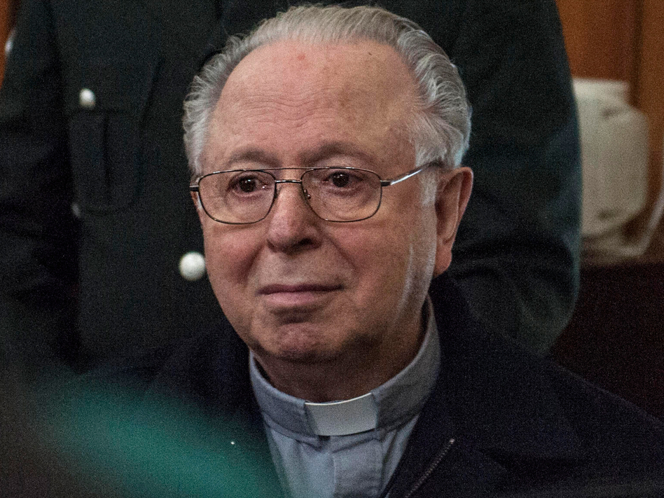 Pope Francis has removed Fernando Karadima from the priesthood, seven years after the Vatican found that Karadima had sexually abused minors in Chile. (Vladimir Rodas/AFP/Getty Images)