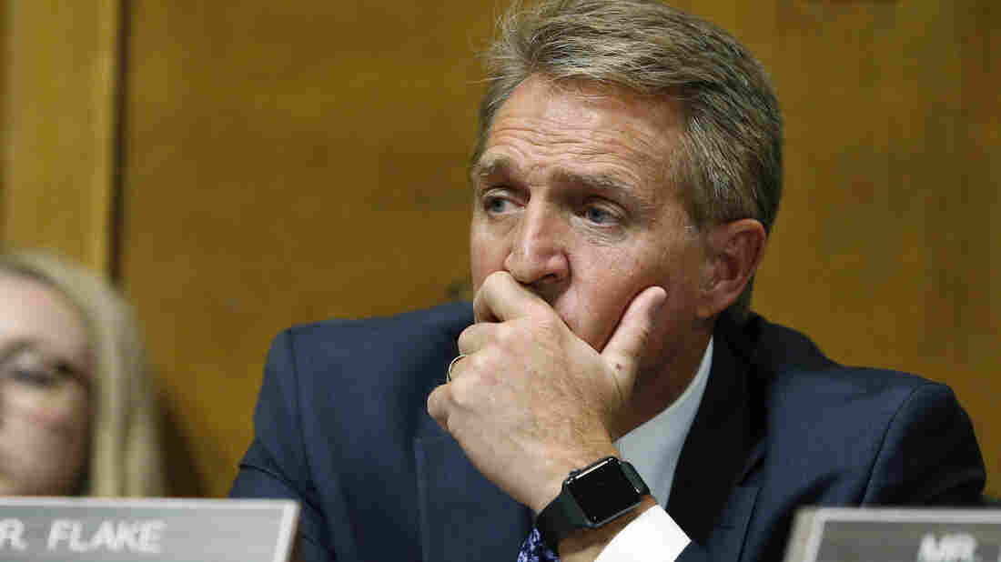 Sen. Jeff Flake of Arizona calls Kavanaugh decision 'a tough call'
