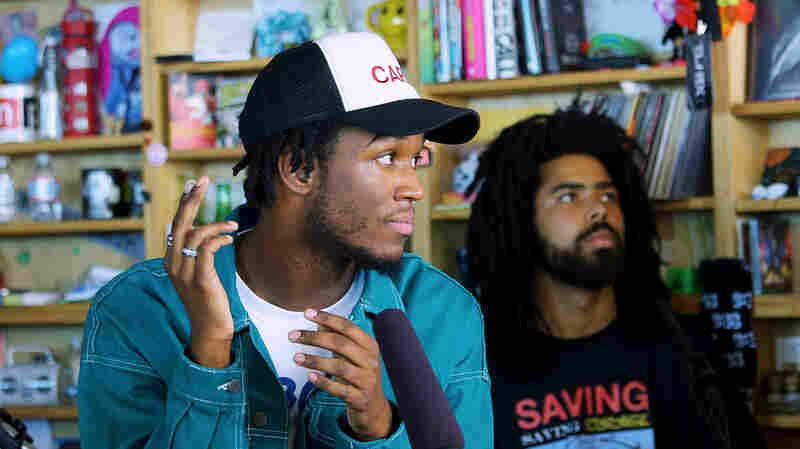 Saba: Tiny Desk Concert