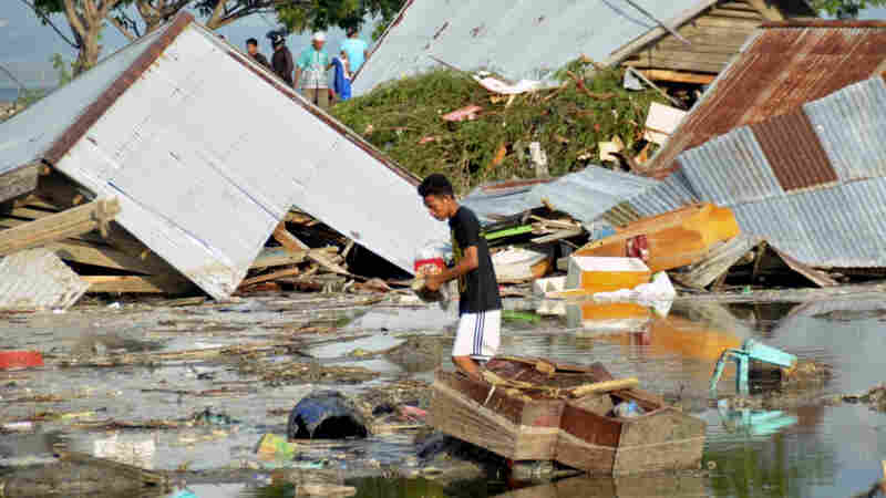 At Least 384 Killed, Hundreds Injured After Earthquake And Tsunami Hit Indonesia