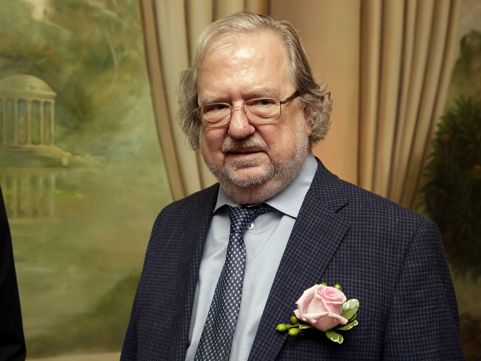 Dr. James P. Allison, University of Texas MD Anderson Cancer Center, poses for a photo in New York in 2015. Allison and Tasuku Honjo have jointly been awarded the Nobel Prize in medicine or physiology. (Richard Drew/AP)