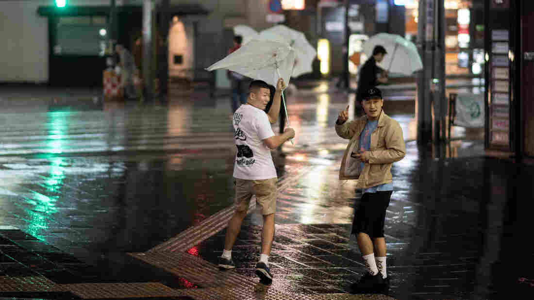 Typhoon Trami Pummels Japan