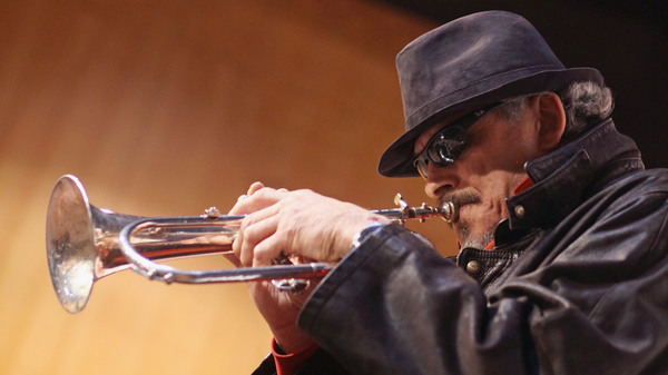 Jerry Gonzalez performs on November 17, 2010 in Madrid, Spain.