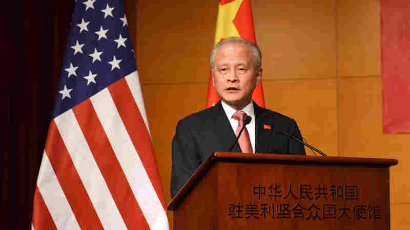 China Wants To End Trade War But 'U.S. Position Keeps Changing,' Ambassador Says