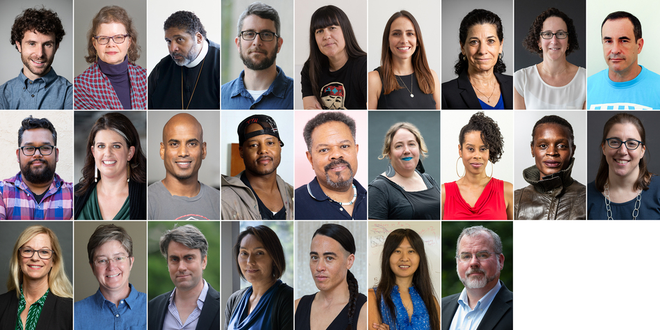 "The 2018 recipients of the MacArthur ""genius"" grant. (John D. and Catherine T. MacArthur Foundation)"