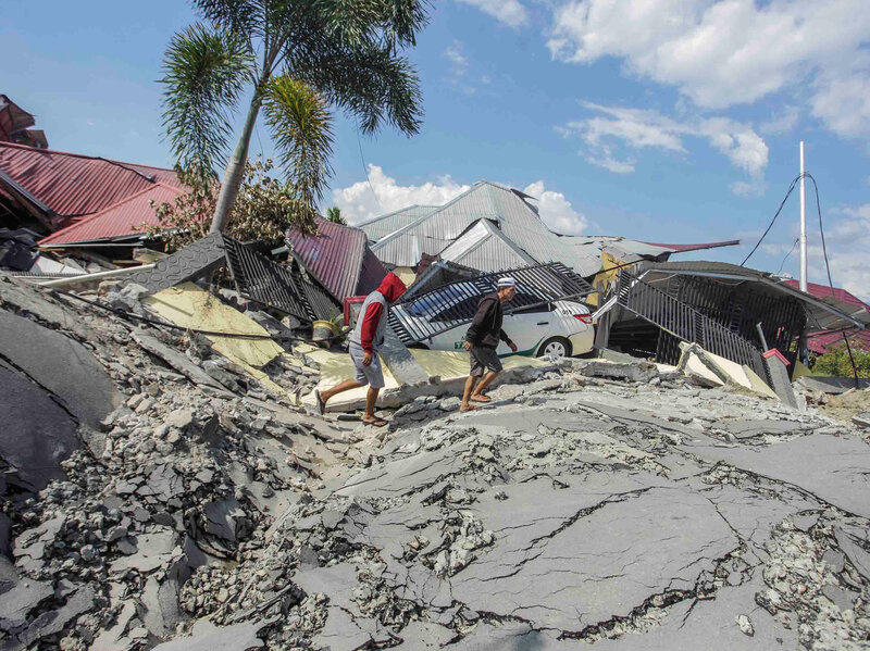 How To Help After Indonesia's Earthquake And Tsunami : NPR