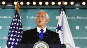 Vice President Pence Accuses China Of Trying To Interfere In U.S. Elections