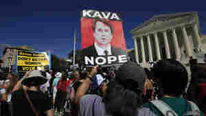 'We Believe Survivors': Demonstrators Throng Capitol Hill To Protest Kavanaugh