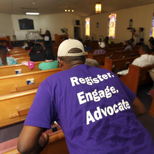 Faith Groups Get Out The Vote For The Midterm Elections