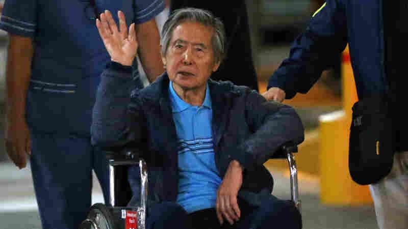 Peru's Supreme Court Overturns Pardon Of Former President Alberto Fujimori