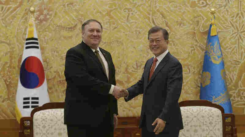 Pompeo: 'We Continue To Make Progress' With North Korea