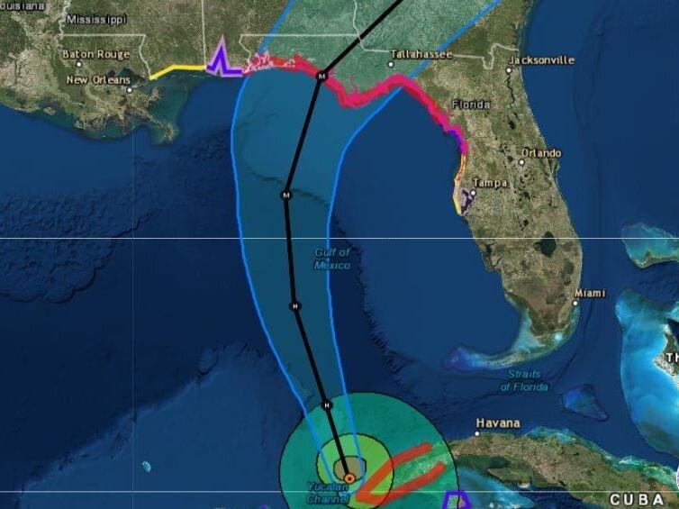 Hurricane Michael Forecast To Hit U.S. Gulf Coast As A Major Storm ...