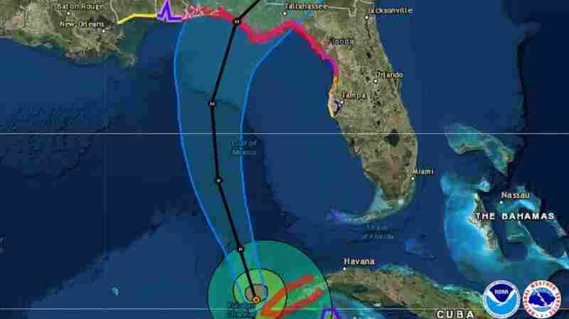 Hurricane Michael Forecast To Hit U.S. Gulf Coast As A Major Storm Wednesday