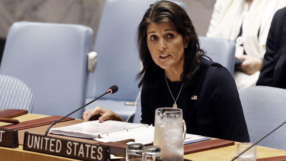 """""""It has been the honor of a lifetime,"""" outgoing U.S. Ambassador to the U.N., Nikki Haley said Tuesday. """"It has really been a blessing."""""""