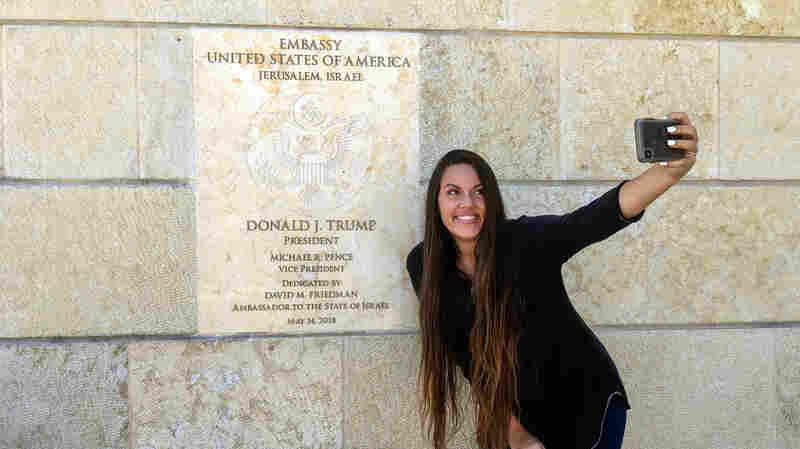 For Some Americans, Jerusalem's Newest Pilgrimage Site Is The U.S. Embassy