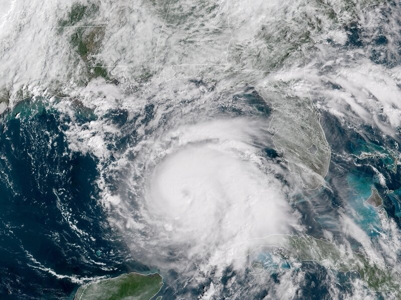 michael upgraded to category 4 major hurricane as it approaches