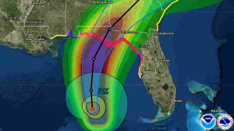 Michael Upgraded To Category 4 'Major' Hurricane As It Approaches Florida Panhandle