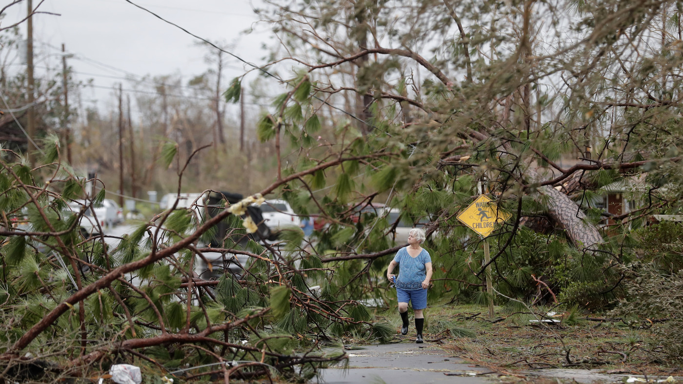 Hurricane Michael Carves Through Florida Panhandle, And Recovery