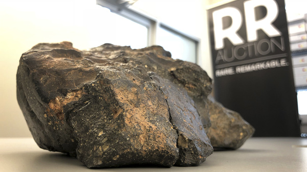 A 12-pound lunar meteorite was discovered in Northwest Africa and comes from the moon but wasn