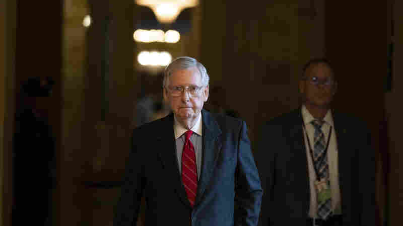 McConnell Warns Of 'Scary Prospect' If GOP Loses Senate Control In Midterms