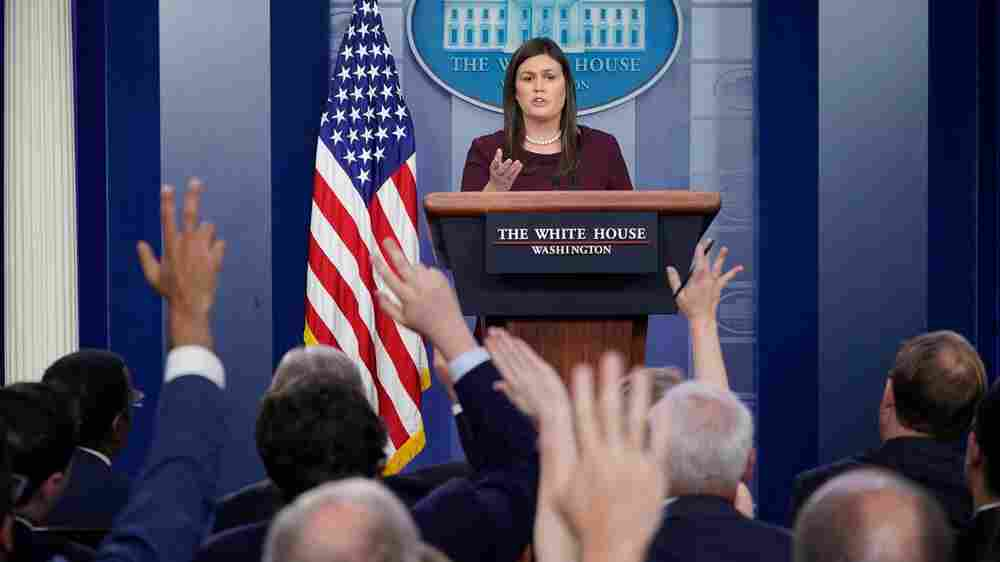 No Longer Daily, White House Press Briefings Fade As Trump Does The Talking