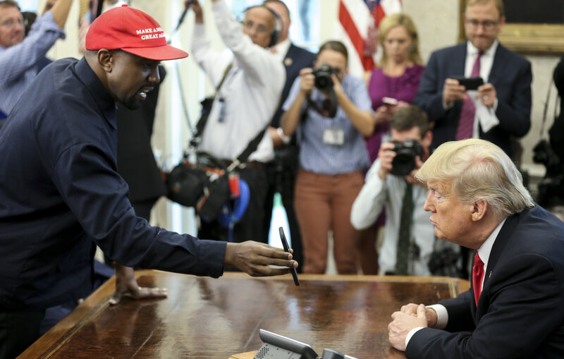 a93fe63bcb3ff Kanye West At The White House  A Scene Trump Called  Quite Something ...