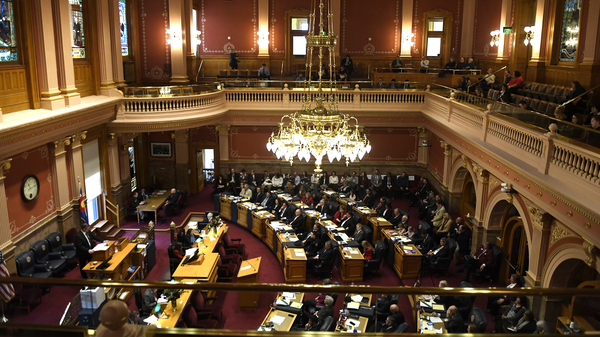 The Colorado Senate, as seen on the first day of its 2018 session, Jan. 10, 2018 in Denver. A group called Unite America is determined to weaken the power of the two major political parties by trying to elect unaffiliated members in Colorado this fall.