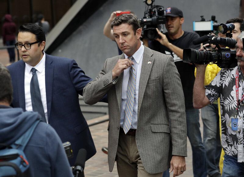 rep duncan hunter under indictment falsely attacks rival ammar