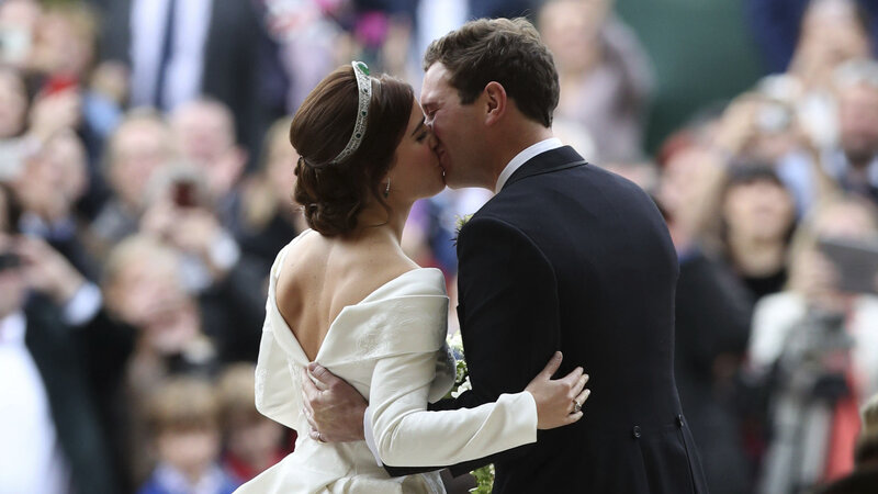 Princess Eugenie Wedding Televised.You Look Perfect Princess Eugenie Of York Marries In Another Royal