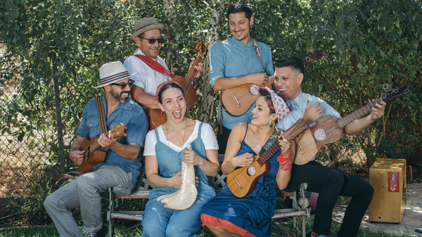 """The East L.A. band Las Cafeteras is known for a version of """"La Bamba"""" that mixes traditional Mexican son jarocho with hip-hop."""
