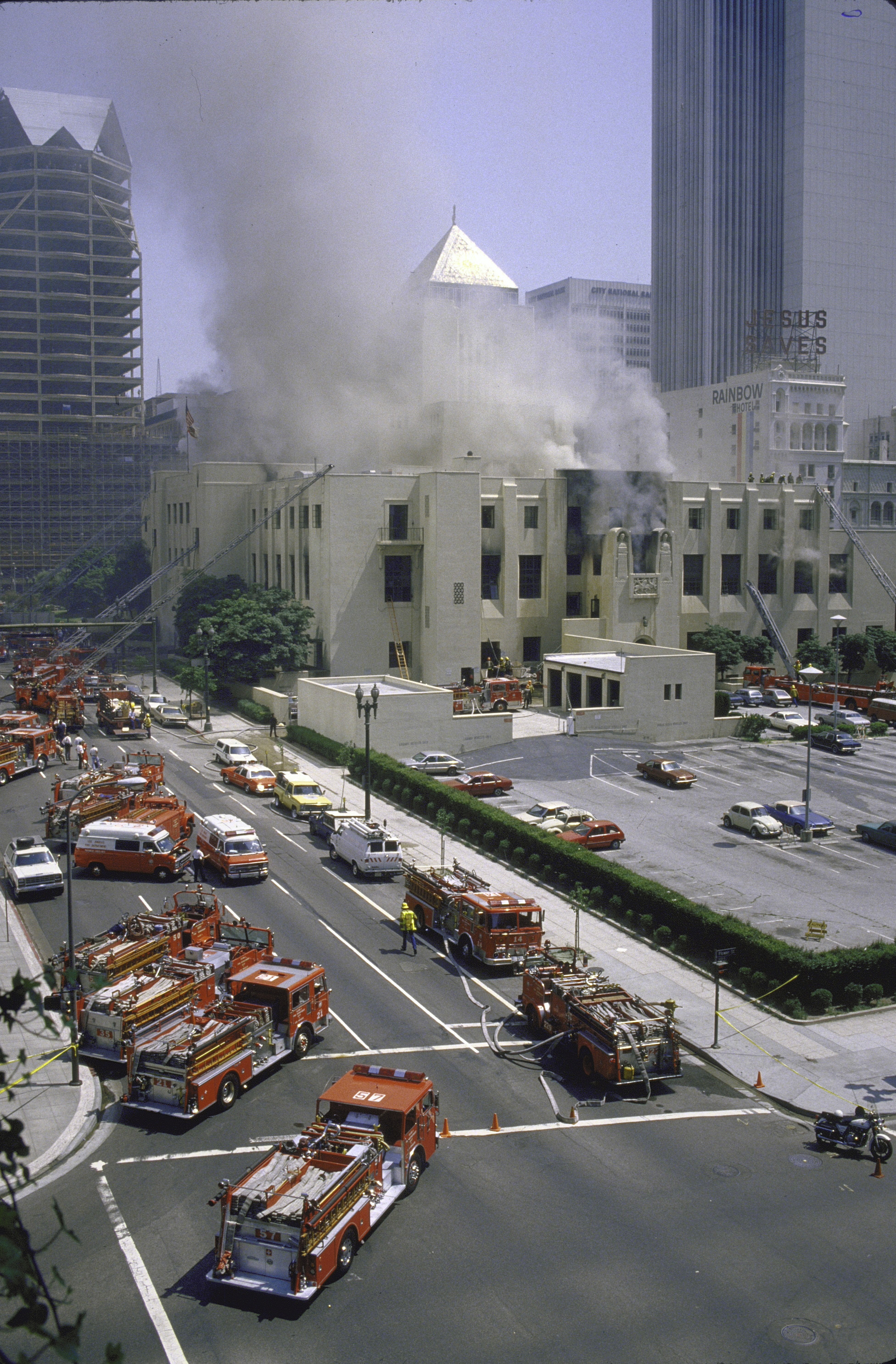 Mystery Of A Massive Library Fire Remains Unsolved After More Than 30 Years