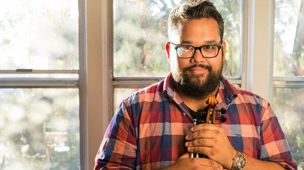 Vijay Gupta is a violinist for the Los Angeles Philharmonic whose life