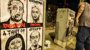 'Visionary, Not Reactionary': Artists Take Political Commentary To Streets And Skies