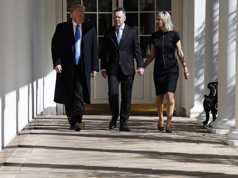 Andrew Brunson, Pastor Freed From Turkish Detention, Lands