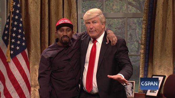 SNL  Spoofs Kanye West, Welcomes Back Paul Simon