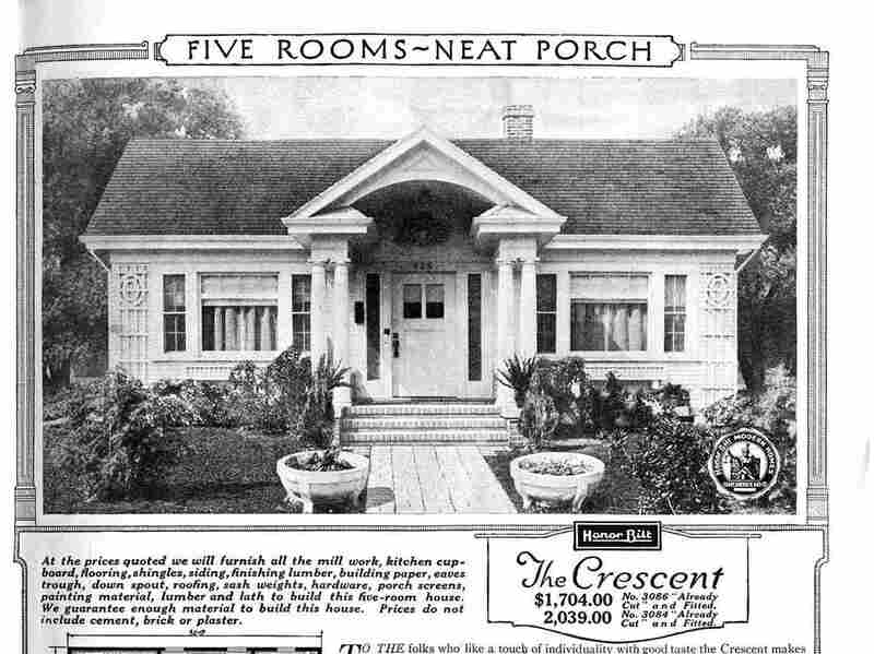 The Sears catalog home model Crescent. This model was offered in the catalog off and on between 1921 and 1933.