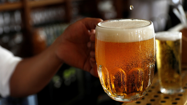 The cost of a pint of beer could rise sharply in the U.S. and other countries because of increased risks from heat and drought, according to a new study that looks at climate change