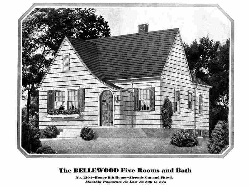 The Sears catalog home model Bellewood. This model was offered through the catalog from 1931 to 1933.