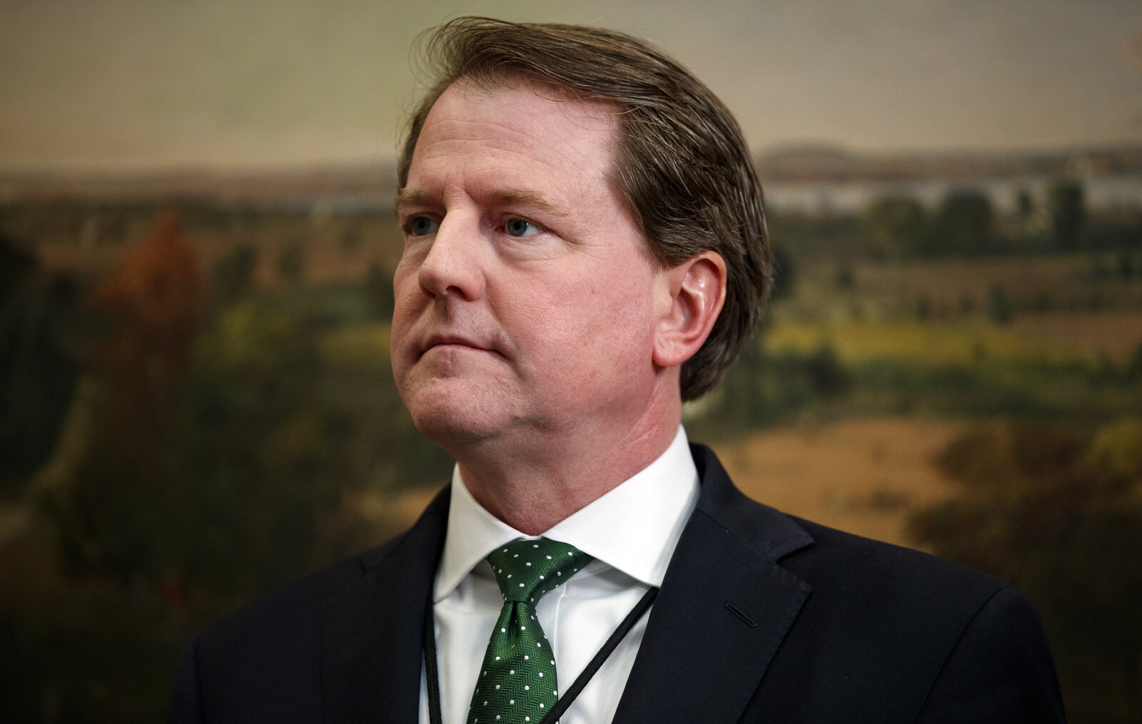 White House counsel Don McGahn leaves