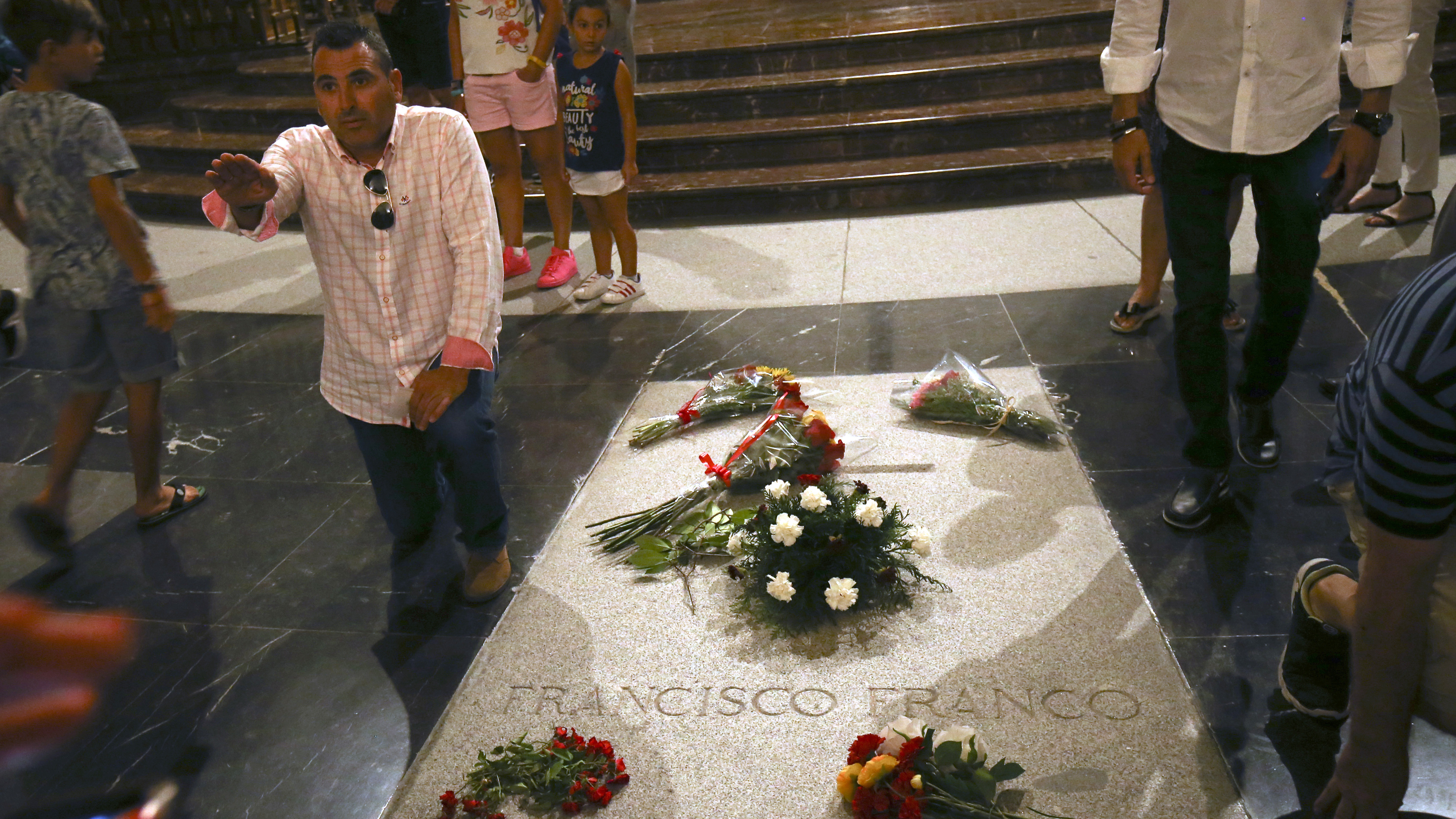 Spain Plans To Remove Franco's Remains From A Memorial Angering His Supporters