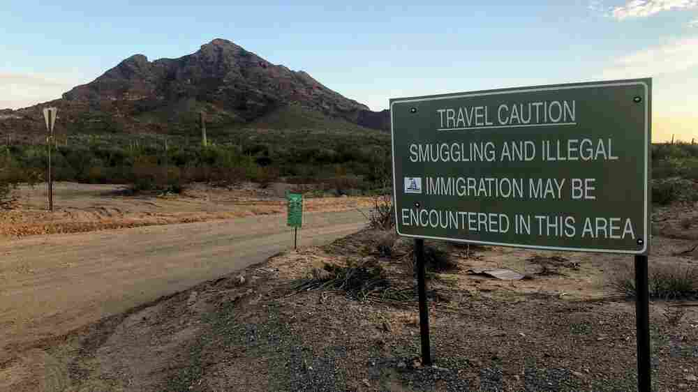 Deep In The Desert, A Case Pits Immigration Crackdown Against Religious Freedom