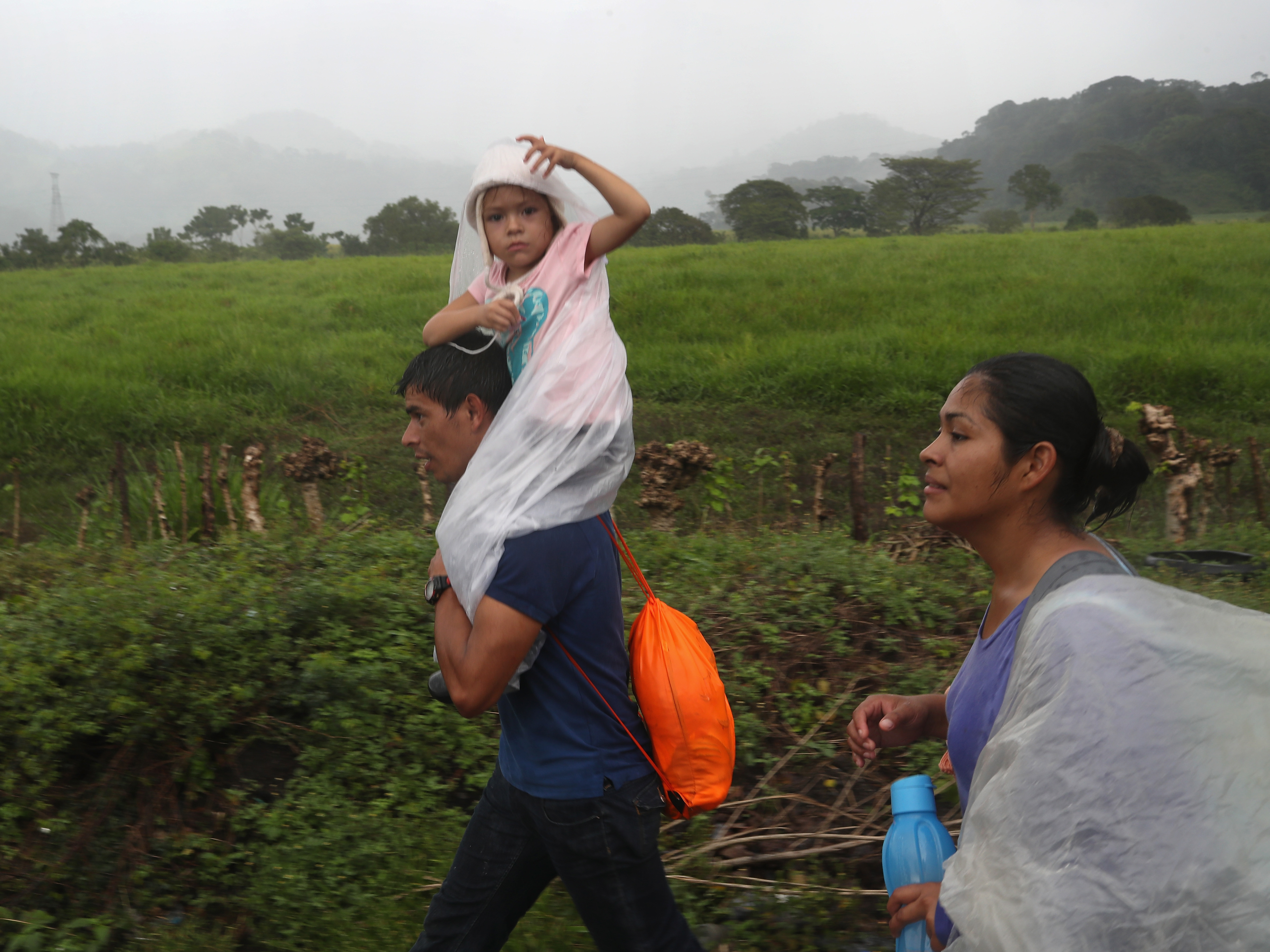 As Caravan Of Migrants Heads North, Trump Threatens To Close Southern U.S. Border