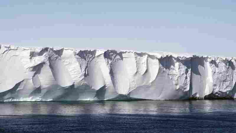 Scientists Learn To Hear The 'Songs' Of Ice Shelves