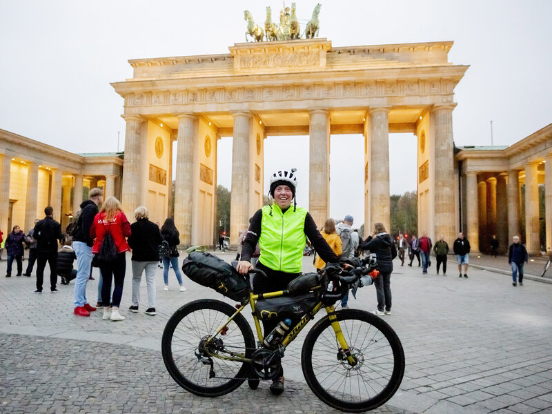 b3cf64df96a Jenny Graham Cycles Around The World In Under 125 Days, Shattering Record