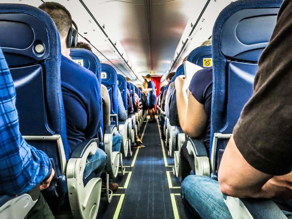 Despite a new congressional mandate to set minimum seat widths and legroom standards, the FAA is unlikely to expand airline seat size anytime soon. (Johan Marengrd/EyeEm/Getty Images)