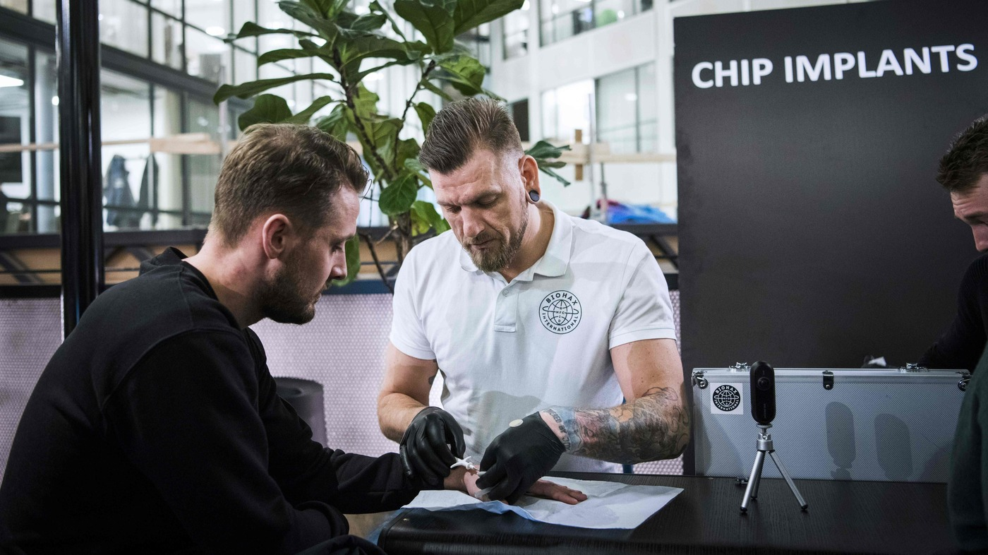 Thousands Of Swedes Are Inserting Microchips Under Their Skin : NPR