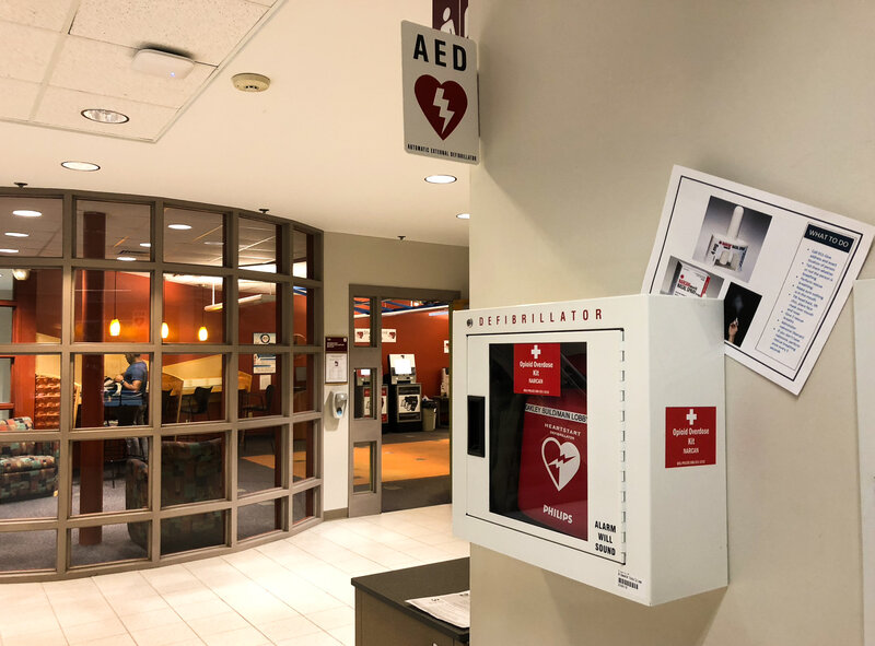 On College Campuses, Making Overdose Medication Readily