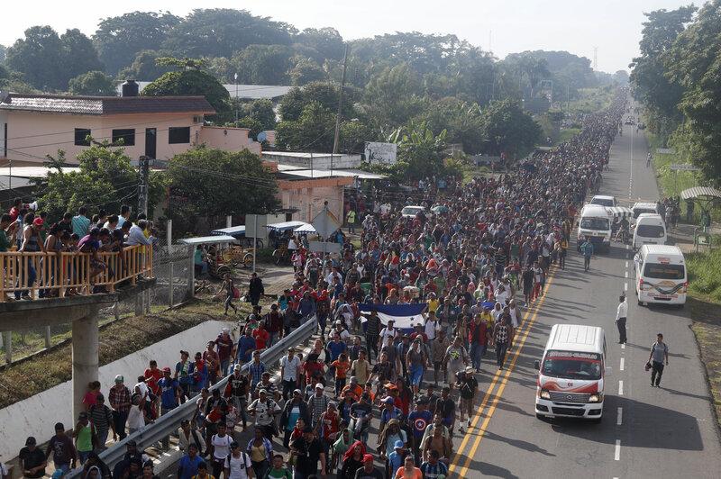 Image result for caravan mexico