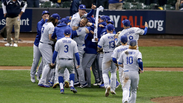 LA Dodgers Defeat Milwaukee Brewers To Reach World Series